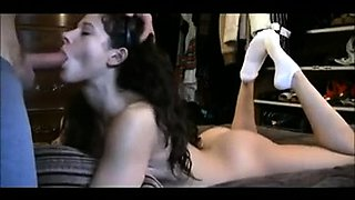 Stacked babe takes a dick up her ass and swallows a hot load
