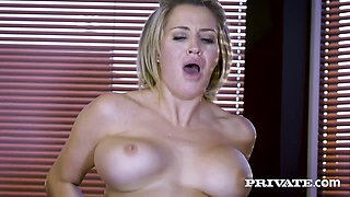 Private.com British hottie Sienna Day fucks her boss
