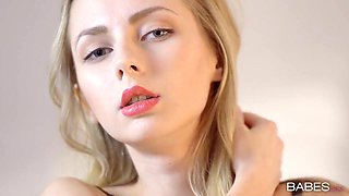 Sensual blonde girl Goldie S gets drilled by her eager fellow