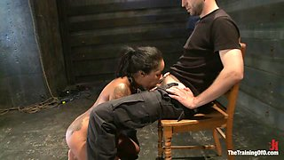Skin Diamond Live ShowThe Final Test of Slave Training ash - TheTrainingofO
