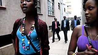 Awesome African girls want to make each other cum by