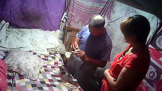 Chinese father visit hometown and paid money for neighbor for sex
