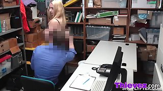 hot chick punished with big dick