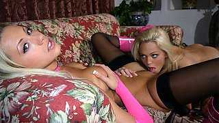 Lonnie And Tanya James In Blonde Lesbian Action - Upox