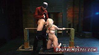 Slut dominated and bikini wrestling bondage Bigbreasted blonde cutie Cristi Ann is on