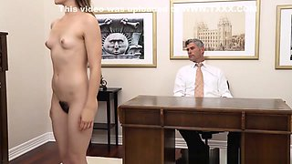 Mormon Elder Inspects Virgin Pussy Before Fingerfucking Her